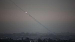 Serangan Roket dari Jalur Gaza