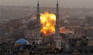 Serangan Tentara Israel Ke jalur Gaza